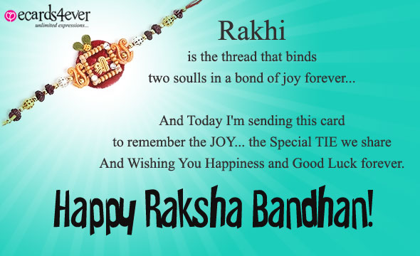 Happy Raksha Bandhan Quotes and Wishes with gifts!